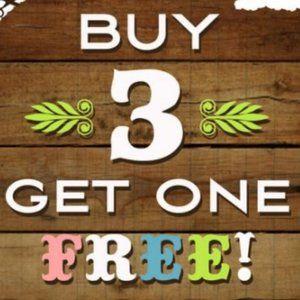 Buy 3 Items Get 4th Item FREE